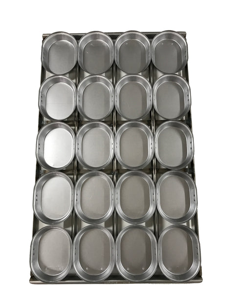 "O2 20 16"" Oval Pie Tray Pallet"