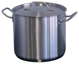 Stainless Steel Stock Pots – Including Lid