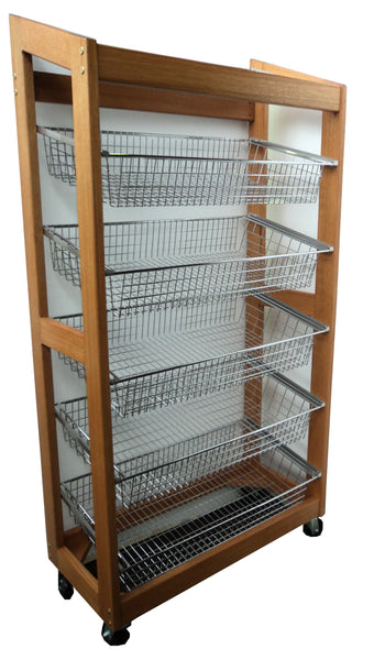 Wooden Display Rack - Sloping