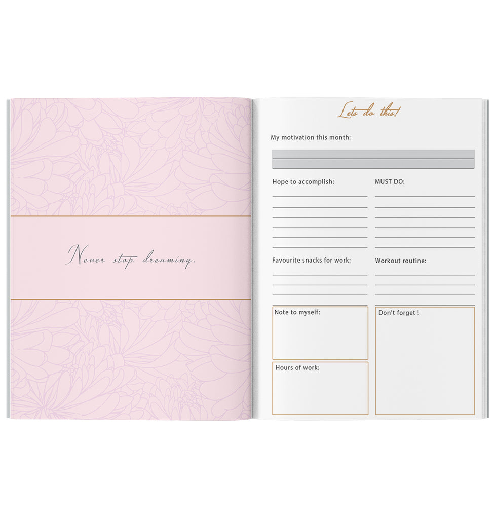 LIMITED Ice Grey Planner