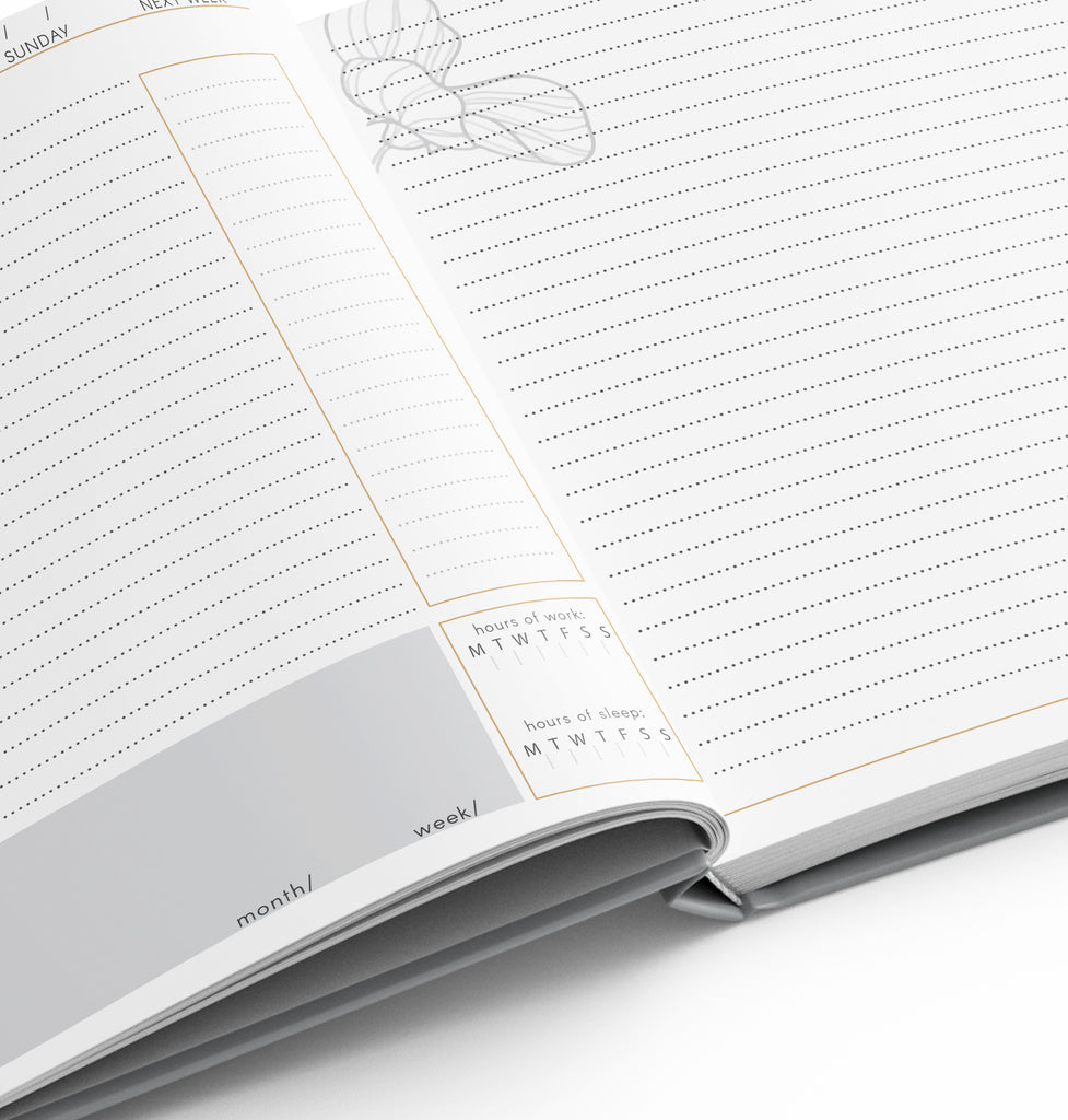 LIMITED Rose White Planner
