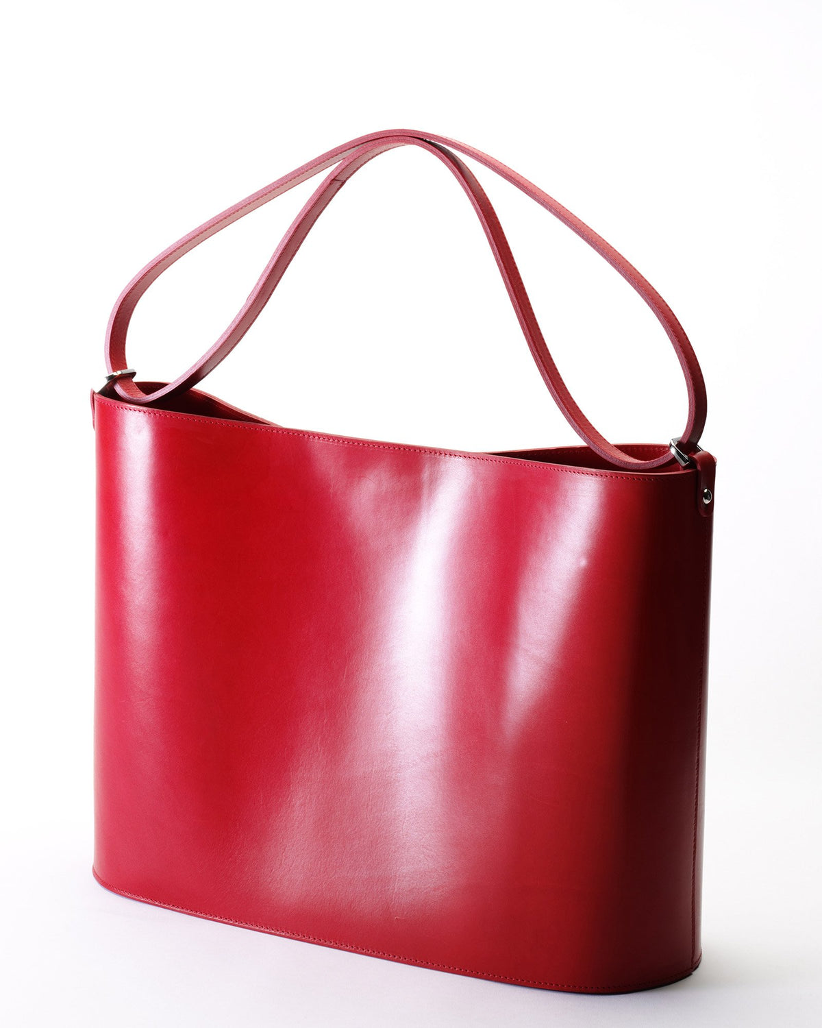 The Darlingmax Large Tote - Red