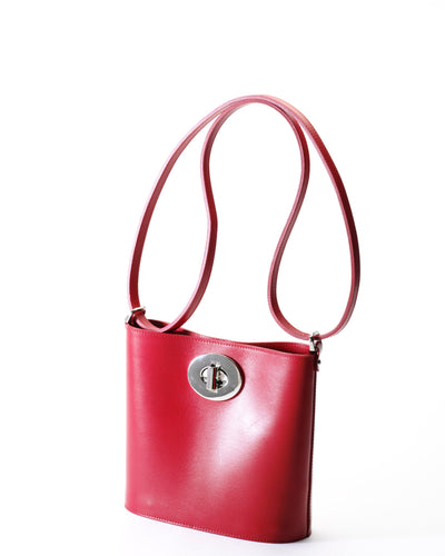 The Darlingmax Small Tote - Red