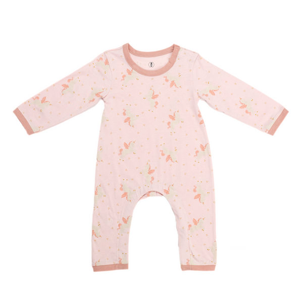 Princess Unicorn Long Sleeve Onesie