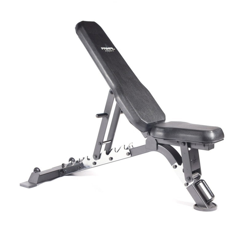 Primal Strength Commercial V2 FID Bench with Chrome Supports