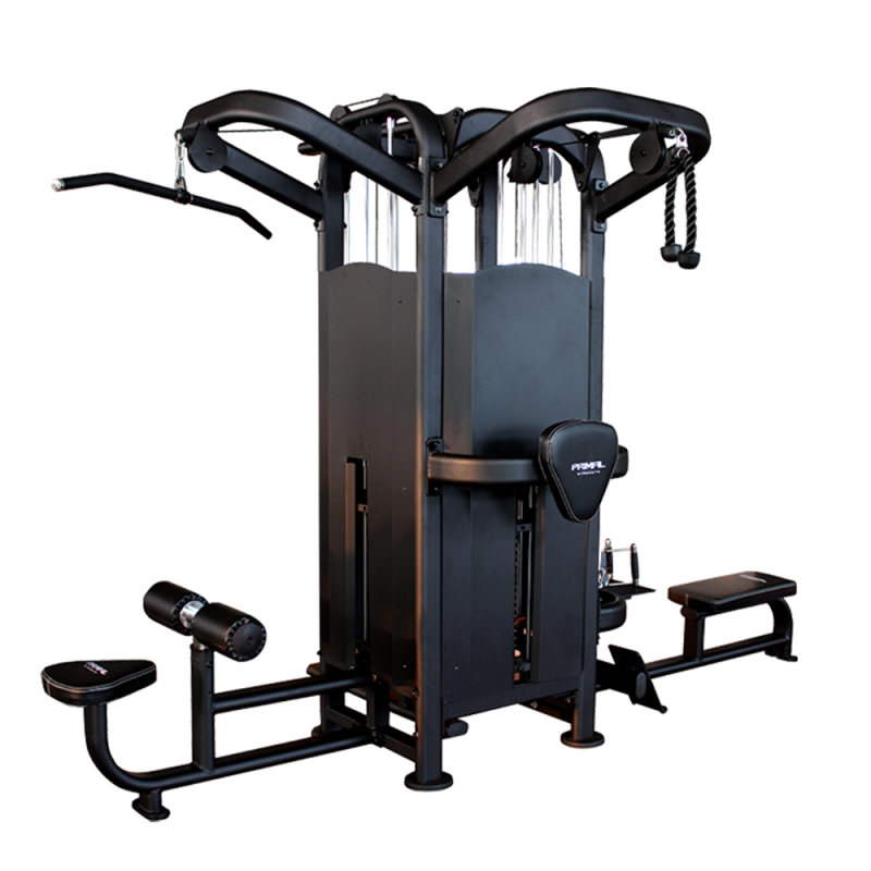 Primal Strength Stealth Commercial Fitness Elite 4 Stack Multi Station