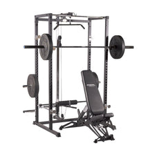 Load image into Gallery viewer, Primal Strength Home Power Rack with Lat Pulldown/Low Row