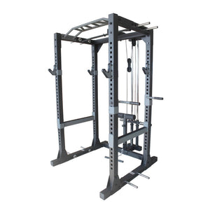 Primal Strength Lat Pull-Down & Low-Row Attachment for Commercial HD Power Rack