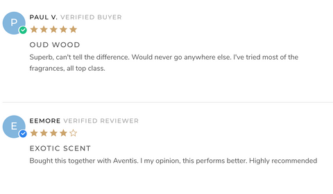 Oud Wood reviews on Copycat site