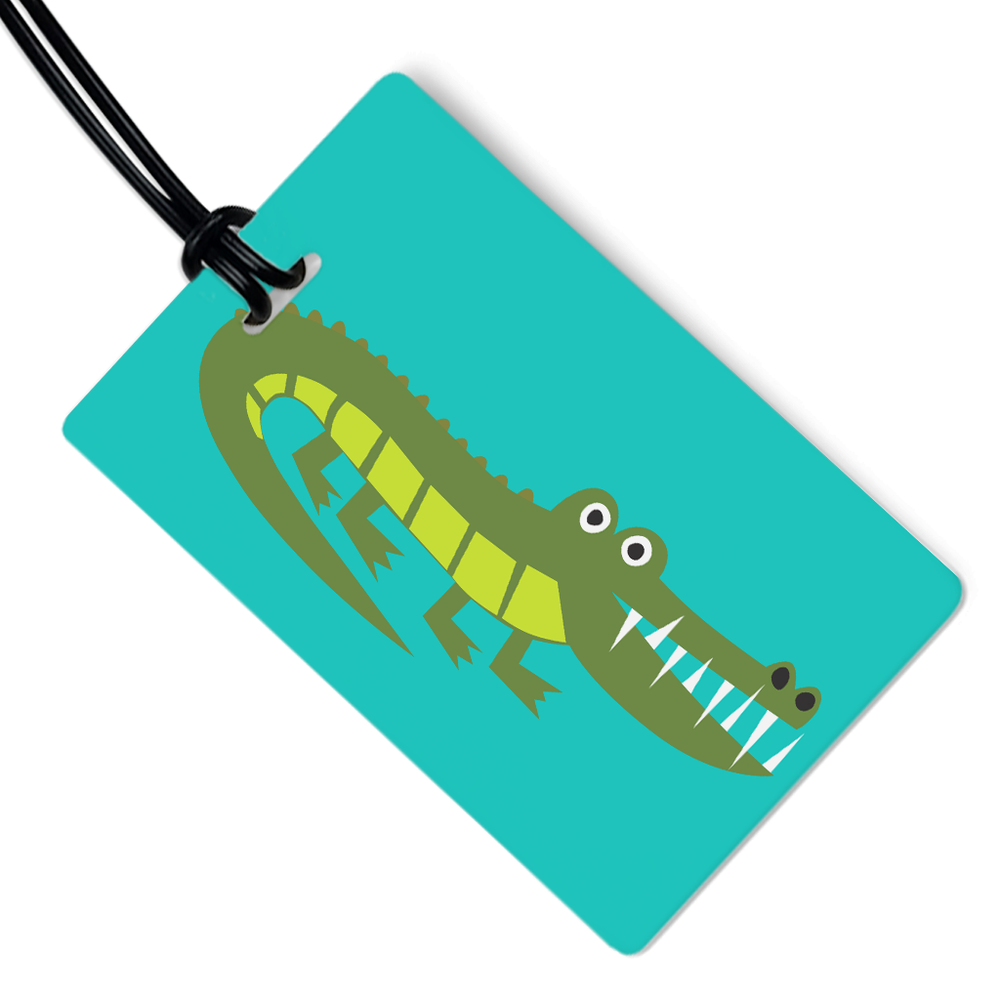 Alligator Luggage Tag