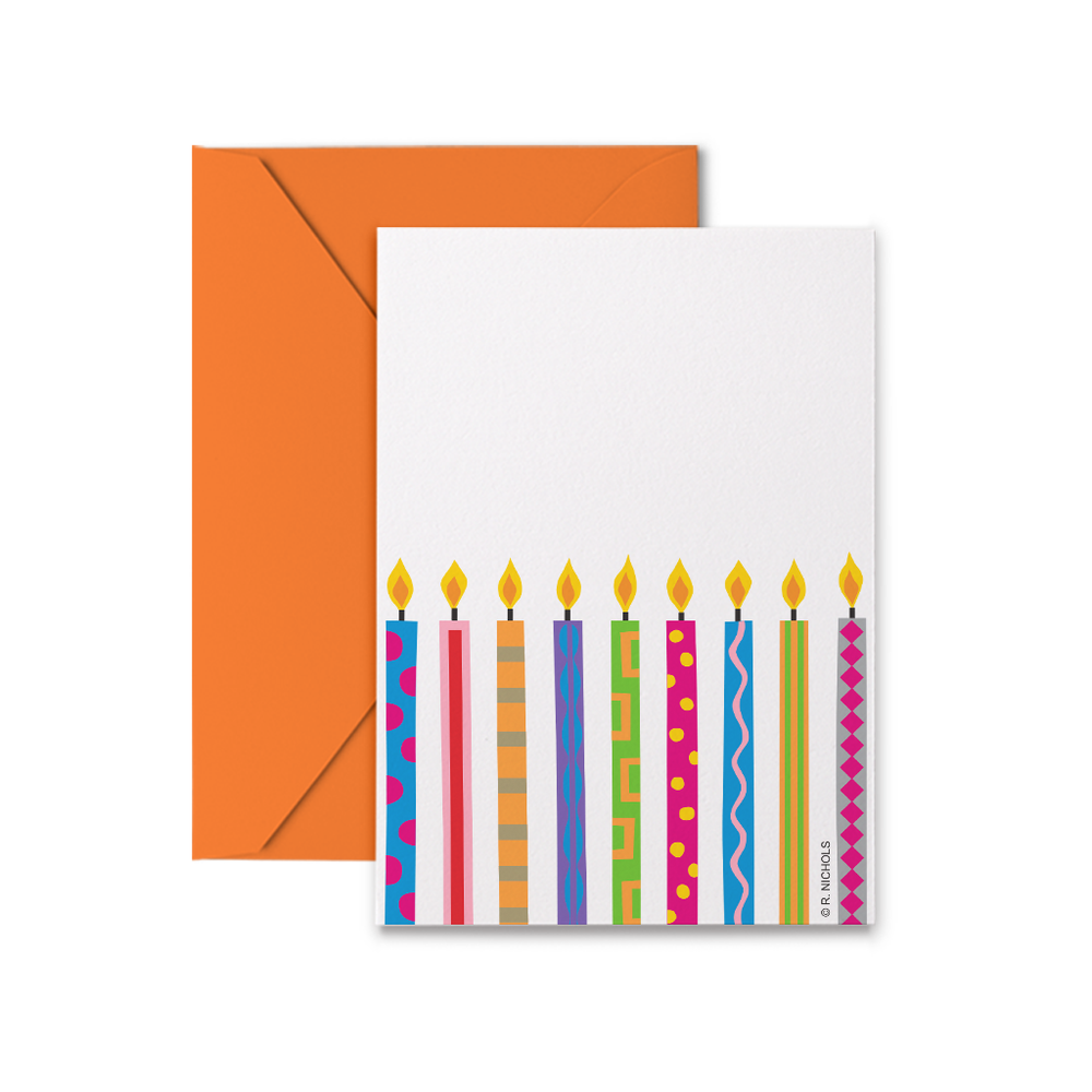 Birthday Candles Gift Tags