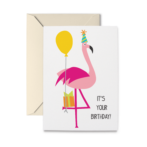 Birthday Flamingo, Greetings That Stick