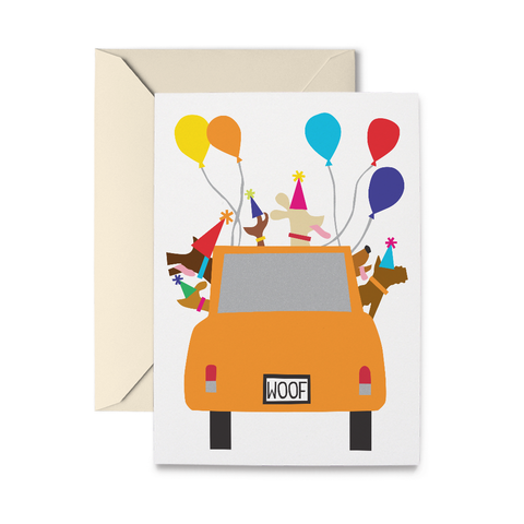 Birthday Gang Greeting Card