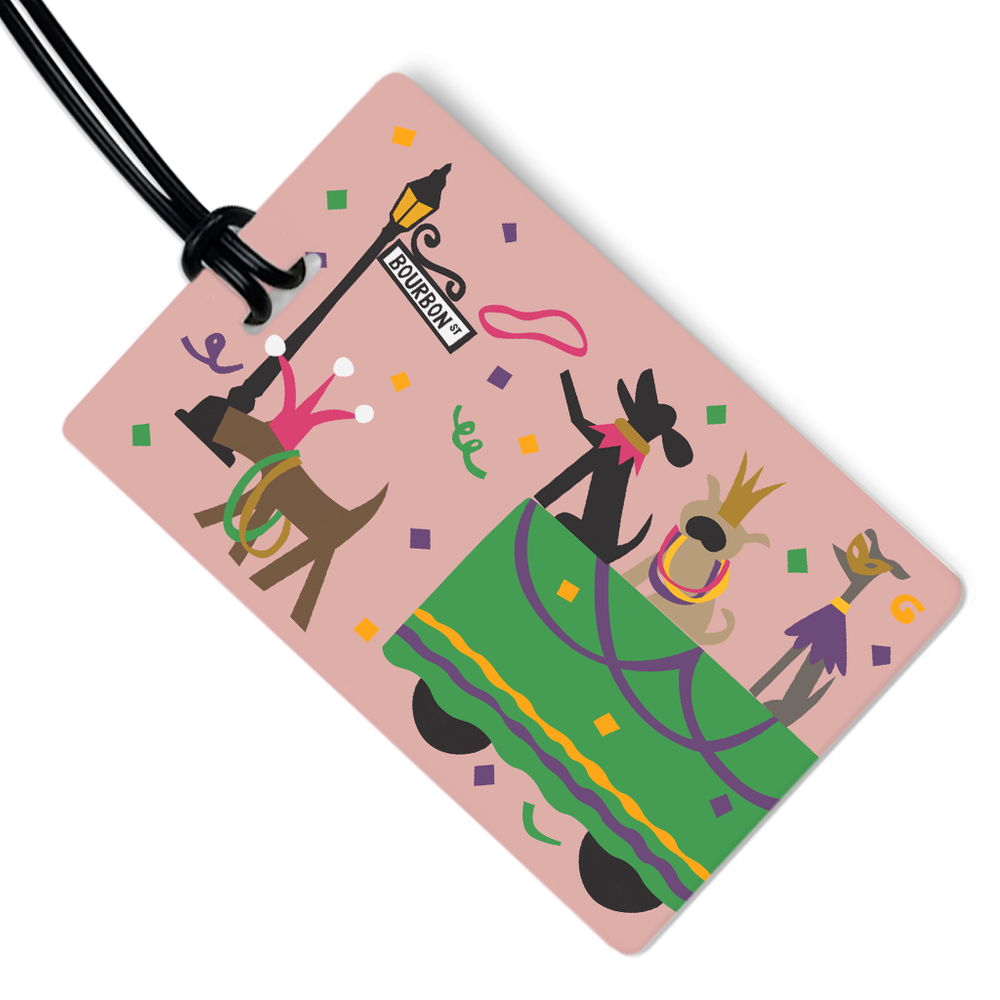 Bourbon Street Luggage Tag