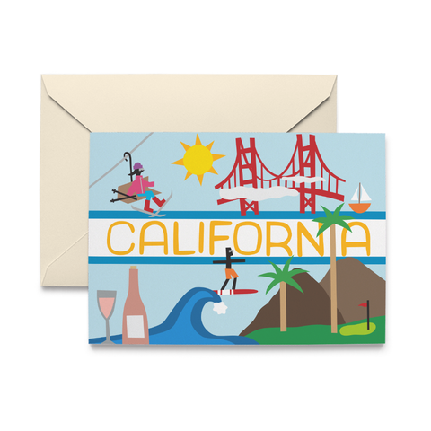 California Note Cards