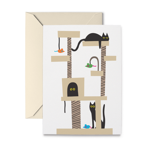 Cat Tree Note Cards