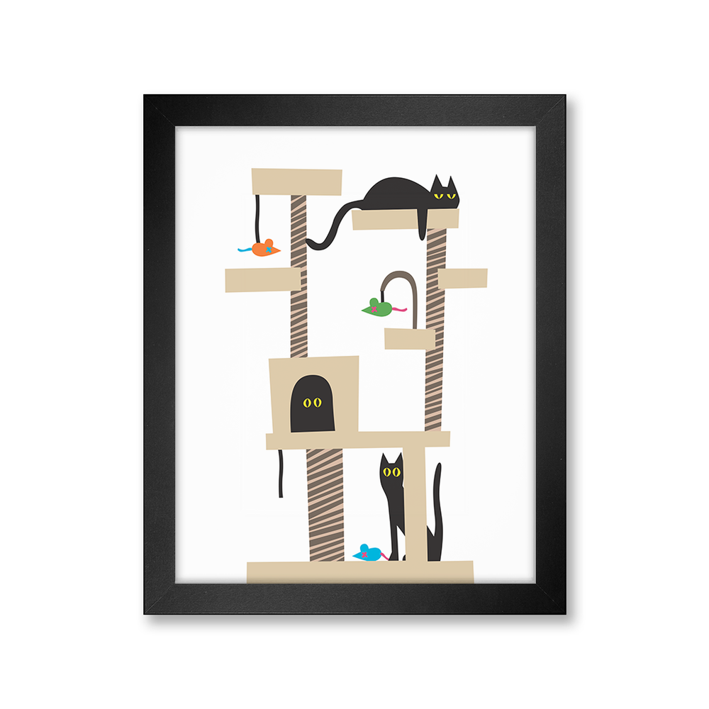 Cat Tree, Limited Edition Print