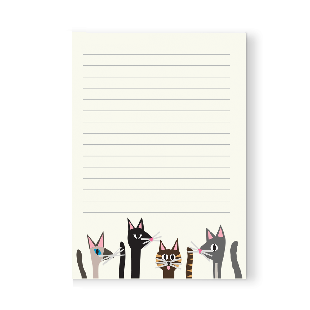 Cat Pack Notepad