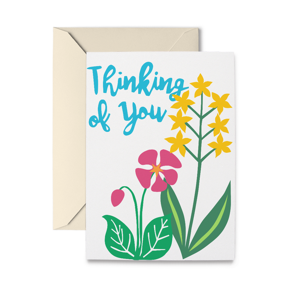 Cheery Thinking of You Greeting Card