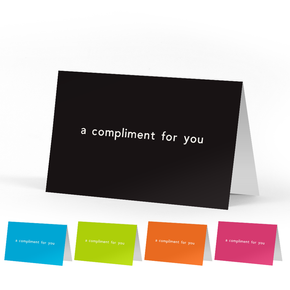 Classic Compliment Cards