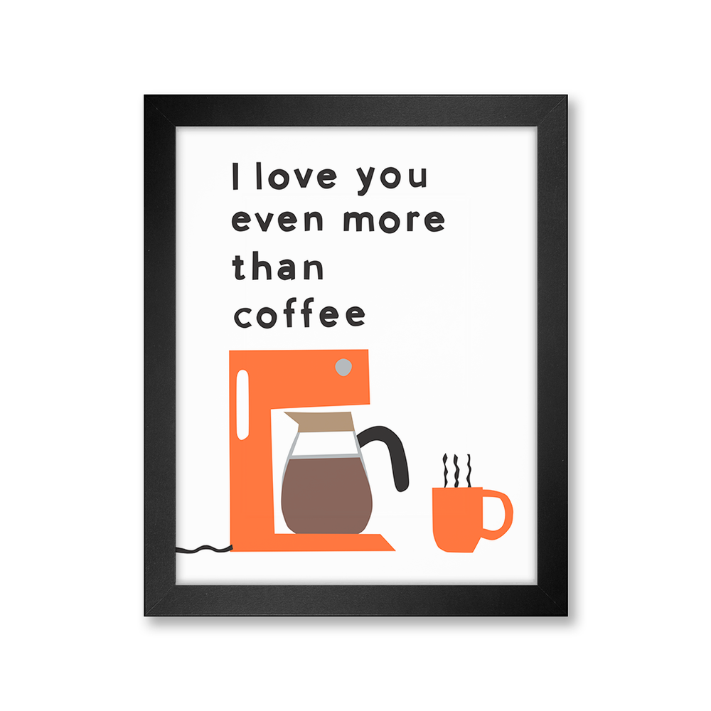 Coffee Love, Limited Edition Print