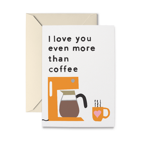 Coffee Love Greeting Card
