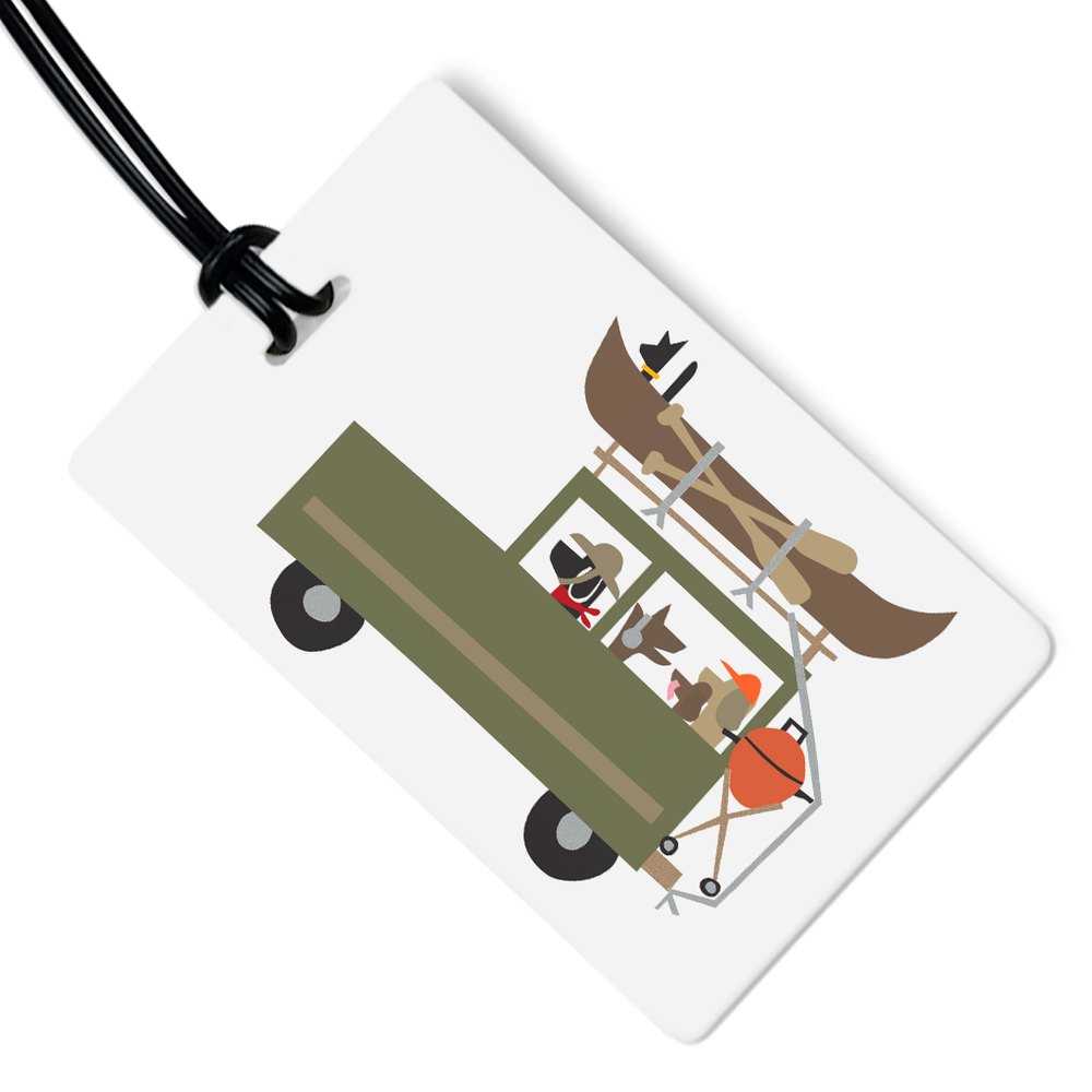 Dog Expedition Luggage Tag