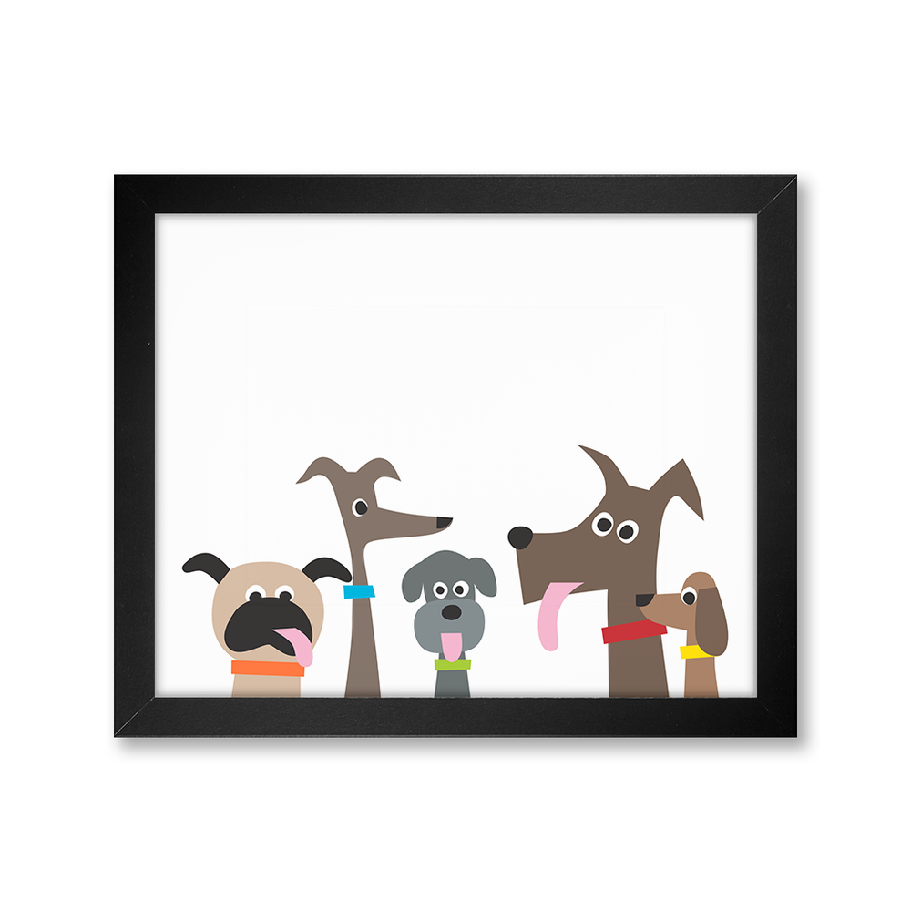 Dog Pack, Limited Edition Print