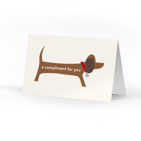 Doggie Compliment Cards