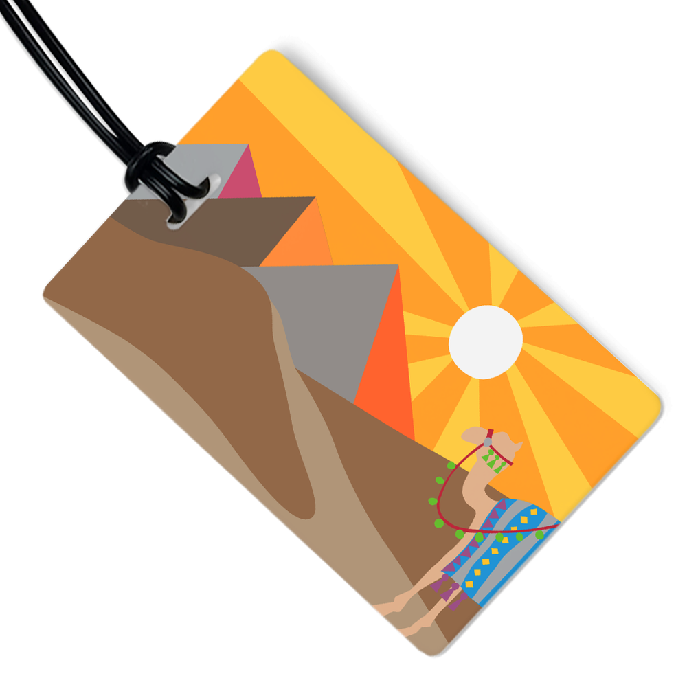 Egypt Luggage Tag