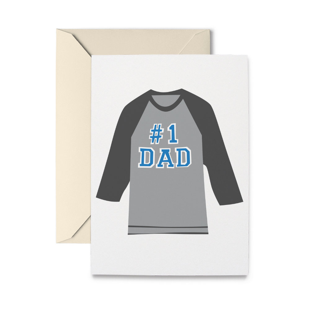 Father's Day Shirt Greeting Card