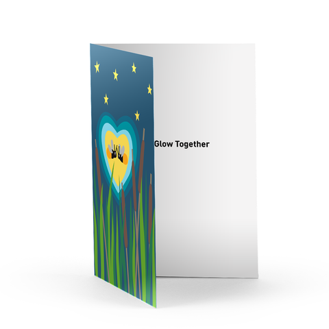 Firefly Love Greeting Card