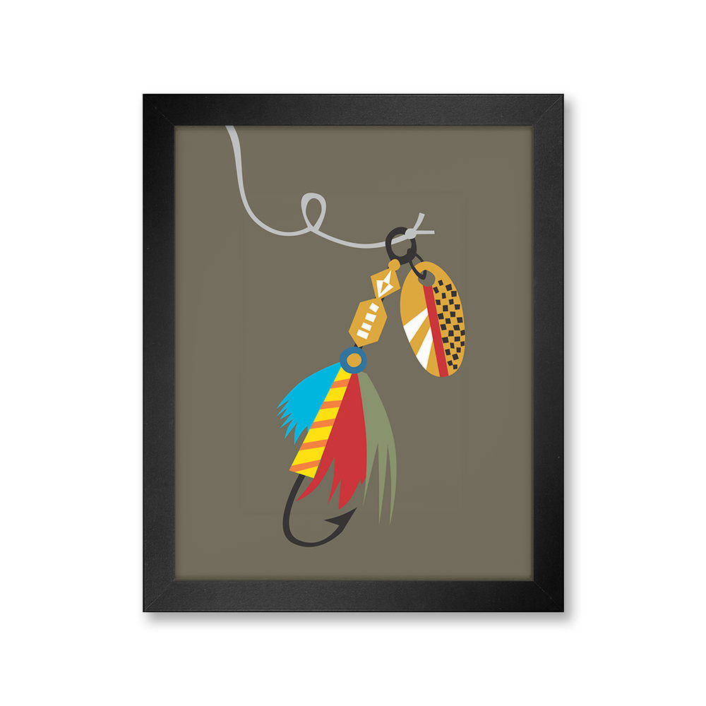Fishing Fly, Limited Edition Print