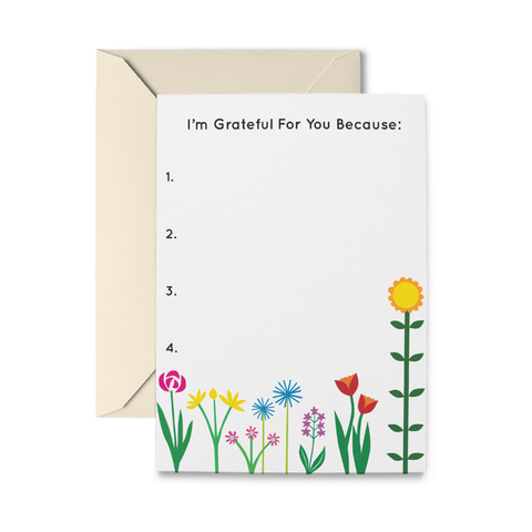 Garden Graticard Greeting Card