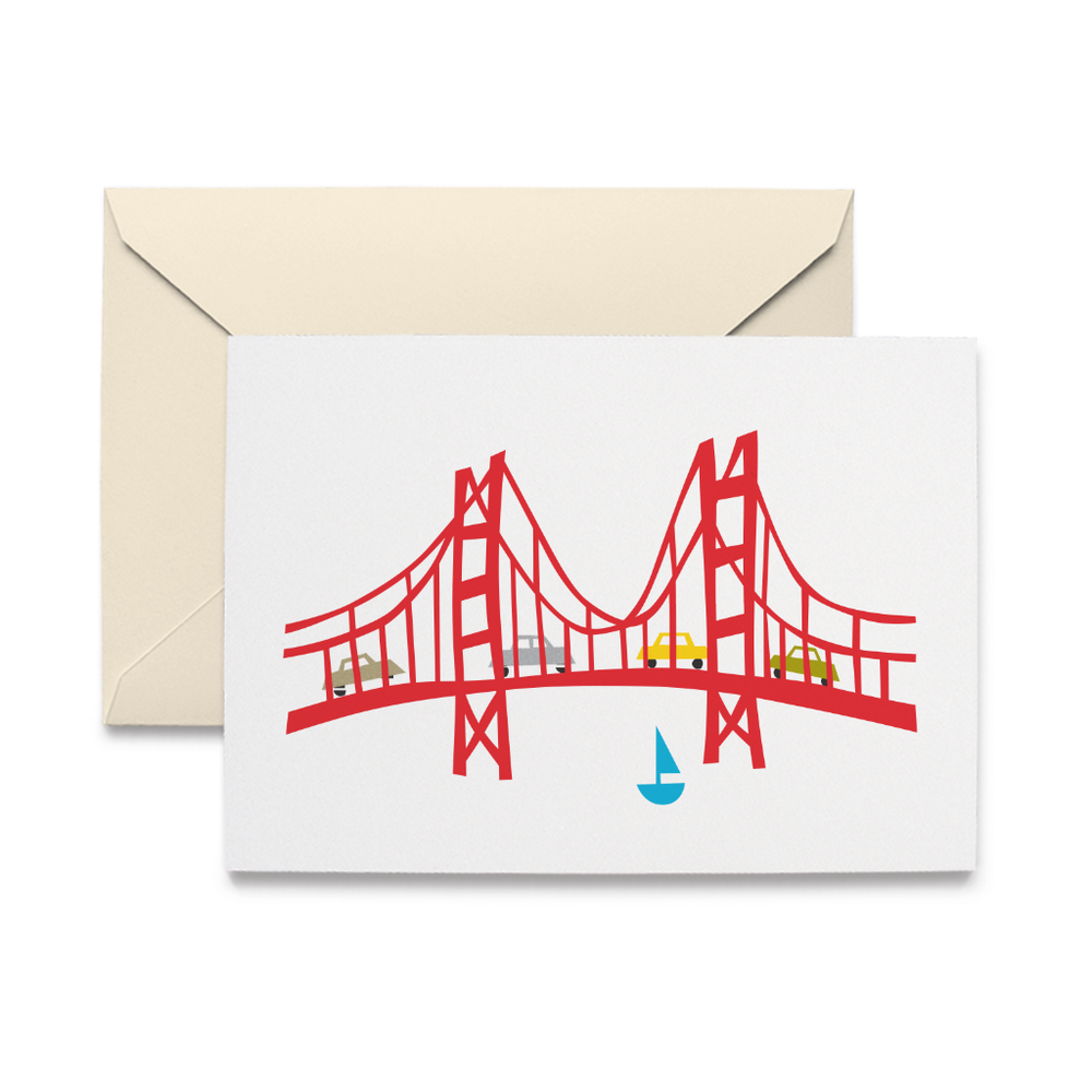 Golden Gate Note Cards