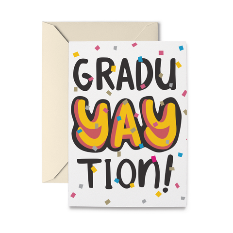 GraduYAYtion Greeting Card