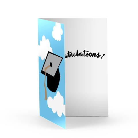 Graduate Cap Greeting Card