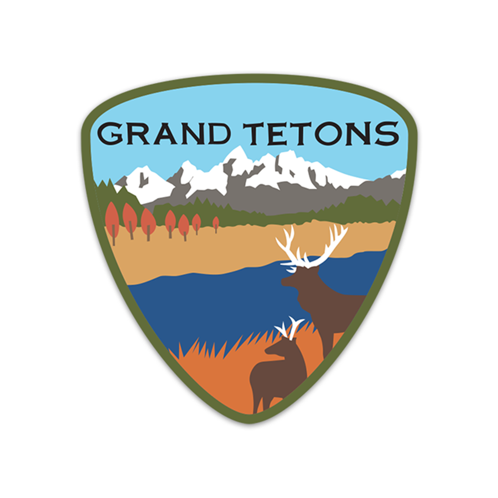 Grand Tetons Sticker