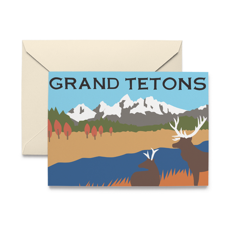 Grand Tetons Note Cards