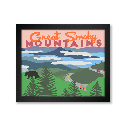 Great Smoky Mountains Print