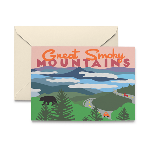 Great Smoky Mountains Note Cards