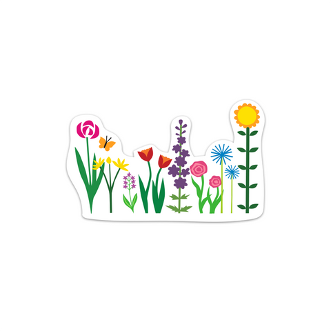Happy Garden Sticker