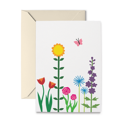 Happy Garden Note Cards