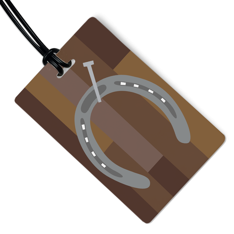 Horseshoe Luggage Tag