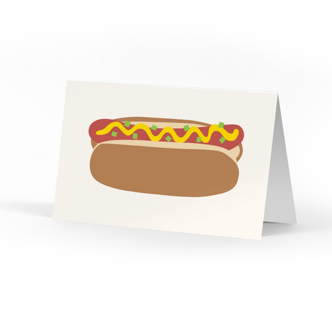Hot Dog Happy Little Notes