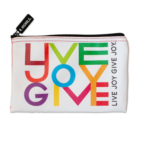 Live Joy Give Joy Pouch