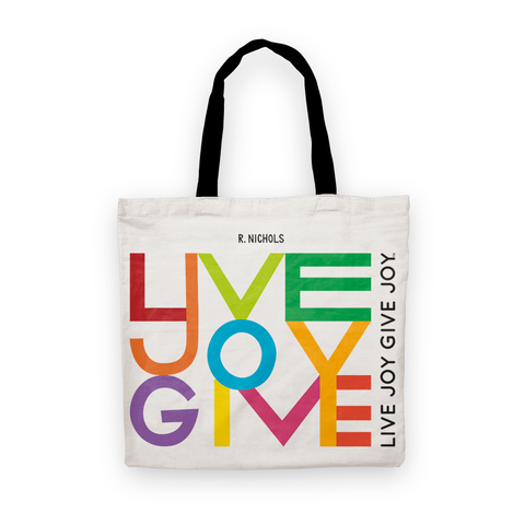 Live Joy Give Joy Tote