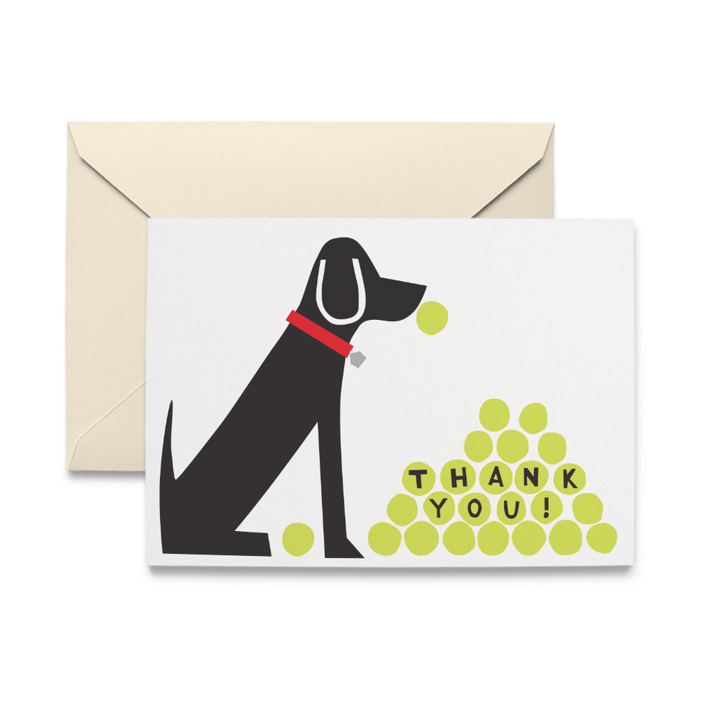 Thank You Labrador Note Cards