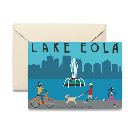 Lake Eola Note Cards