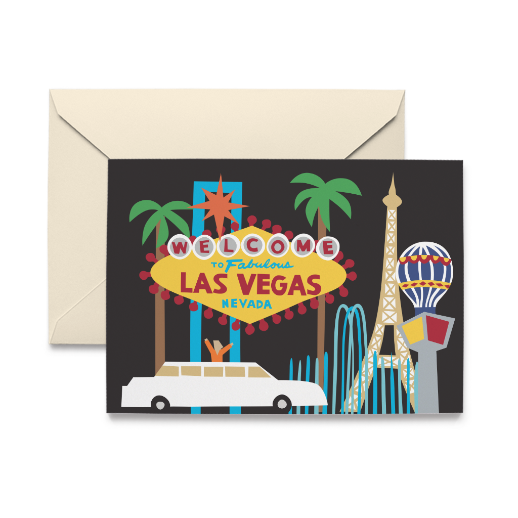Las Vegas Note Cards